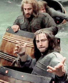 Fili and Kili - the hot dwarves!