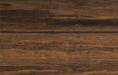 Price: about $4.99 per sq. ft. Maker: Bellawood; Lumber Liquidators Highlights: Brown-and-tan strand-woven bamboo suggests a tropical hardwood.