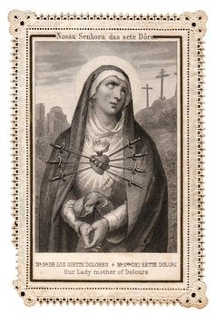 Meditations of the Seven Dolors of Mary First Dolor: St. Simeon's Prophecy Second Dolor: The Flight of Jesus into Egypt Third Dolor: The Loss of Jesus in the Temple Fourth Dolor: The Meeting of Mary with Jesus, When He Went to Death Fifth Dolor: The...