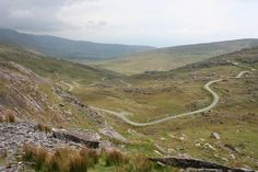 Healy Pass Cork / Kerry Border  - No wonder it takes so long do drive across Ireland!