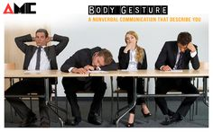 Time to Improve your Gestures & Body Language that define Non Verbal Comunication - AMIC