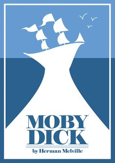 Moby Dick. Classic Book Art Print Poster. Sizes A4 A3 A2 A1 002421