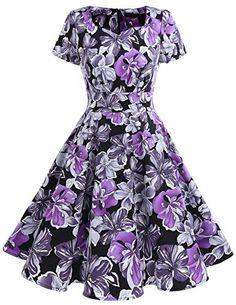 Dresstells Damen Vintage 50er Rockabilly kurzarm Swing Kl... https://www.amazon.de/dp/B07567SNZ8/ref=cm_sw_r_pi_dp_x_zNXYzbDCKNB32