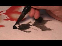 How to Do basic brushstrokes in Chinese painting using Sumi ink « Painting Tips Painting Lessons, Painting Techniques, Art Lessons, Painting Tips, Japanese Painting, Chinese Painting, Japanese Art, Drawing Rocks, Sumi E Painting