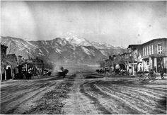 Pikes Peak Av ~ Colorado Springs Colo ~ 1875