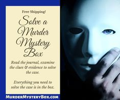 One-time boxes available. Free shipping.  #mystery #murdermystery #murdermysterybox #mysterybox #murderbox #killerbox #subscription #murdermysterysubscription #subscriptionbox #investigate #adventure #subscribe #detective #clue #evidence #interactive #solve #case #crime #truecrime #cozymystery #journal #freeshipping #murdermysteryinabox #gift #giftideas #adventures #reading #books Cozy Mysteries, Mystery Box, Reading Books, True Crime, Happenings, Investigations, Detective, Boxes, Journal