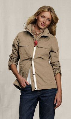 Lands End Canvas utility jacket, $40 on sale