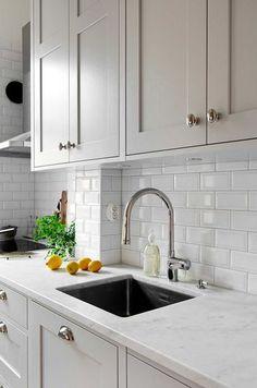 Tibrokök won Kitchen of the Year 2016 Grey Kitchens, Cool Kitchens, New Kitchen, Kitchen Decor, Küchen Design, Design Ideas, Cuisines Design, Beautiful Kitchens, Interior Design Kitchen