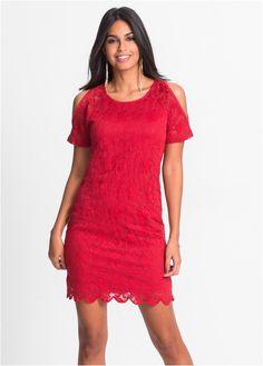 Commandez maintenant Robe en dentelle avec découpes rouge - BODYFLIRT à partir de 19,99 ? sur bonprix.fr. Magnifique robe à effet WOW ! Idéale pour les ...