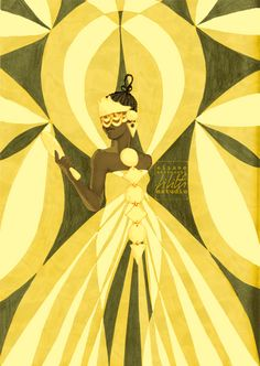 Oxum by Eliane Bettochi | Lilith Studio