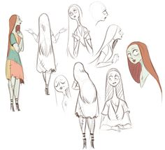 Sally sketches