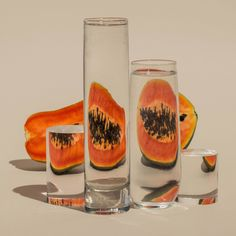 New York based american photographer Suzanne Saroff have been working on her ongoing series 'Perspectives' where she simply shot various fruits, fishes and vegetables behind water filled glass vessels to produce these beautiful abstract still lifes. Using simple techniques like refraction, directional light with bold color backgrounds proving that the simplest ideas can communicate amazing results. …