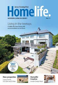 A revista Homelife. fez uma reportagem, em maio de 2015, sobre a casa onde Henry Cavill passou sua infância em Jersey.