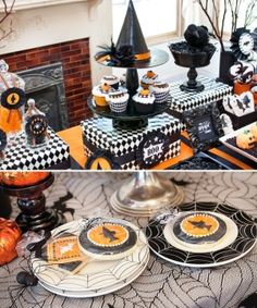 Bewitching Halloween Party Ideas~ These ideas are for sale but I'm pinning for inspiration. by harriet