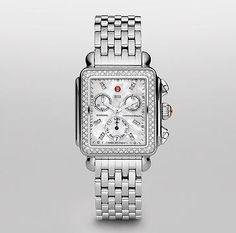 Michele Watches are true wrist candy! - My bling-bling!