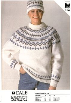 3123 Kids Knitting Patterns, Knitting For Kids, Sweaters For Women, Men Sweater, Christmas Jumpers, Fair Isle Knitting, Vintage Knitting, Winter Wear, Fair Isles