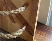 Copper Rope Pulls - Straight ends, Drawer Pulls, Cabinet Pulls, Knobs & Pulls, Rope pulls