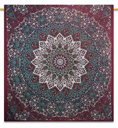 Mandala Indian Tapestry Picnic Blanket Hippie Bohemian Full Size Tapestries 92X82 Inches ibaexports http://www.amazon.com/dp/B00OYU25SW/ref=cm_sw_r_pi_dp_2oxEwb10QD3DN