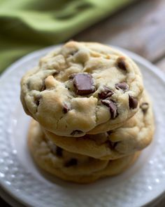 perfect chocolate chip cookies. Excellent cookie recipe. I like it that it only makes 12 cookies!!! Will diffently make again