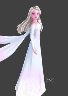 Frozen Art, Disney Frozen, Disney Pixar, Sailor Princess, Disney Princess, Quilling, New Dress, Paper Art, Elsa