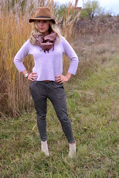 The perfect weekend lounging outfit with these adorable #fabfound booties from @Marshalls <www.theclosetandthecook.com>