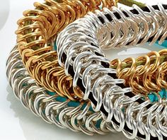 Daddy Cool Chain Maille Gifts.. this site has lots of DIY..very nice