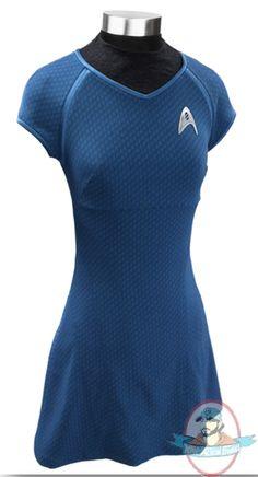 Star Trek: The Movie Dr. Carol Marcus Blue Dress Large Anovos | Man of Action Figures