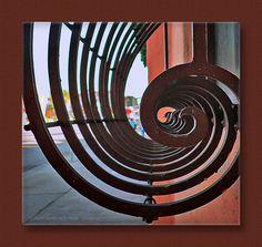 Iron work by TeeRoe, Terrence Rorie, via Flickr