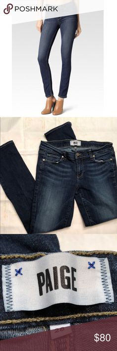 Paige peg skinny jeans Paige peg skinny jeans. Size 28. Excellent condition. Length 35 inches. Inseam 27 inches PAIGE Jeans Skinny