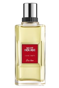 Habit Rouge, Guerlain (1965), Elegant, citrus, floral and balsam blend. A gentleman's scent, in the boardroom or at a ball or in the casino?