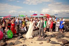 Jane And Pete's Rainbow Beach Wedding