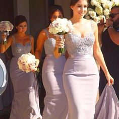 2015 Hot Sale Mermaid Bridemaid Dress For Wedding Spaghetti Strap Lace Appplique Charming Maid Of Honor Dress Custom Made Party Dress Elegant Dresses Purple Bridesmaid Dresses From Enjoyprom, $84.67| Dhgate.Com
