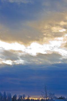 Taivaan sini - Sky blue