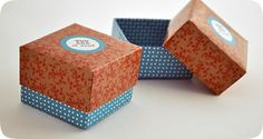 So Sweet: cajita souvenir con tapa. Descargá gratis el diseño para imprimir!