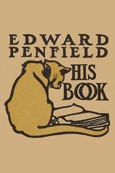 Bookplate of artist Edward Penfield