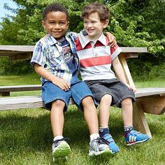 Back-to-School Looks for the Perfect Picture Day: Button-downs and polos  #zulilyfinds #BackToSchool
