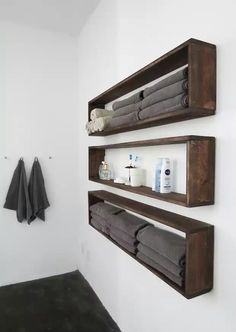 DIY Wall Shelves In The Bathroom   Tutorial