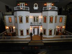 Modified Foxhall Manor dollhouse