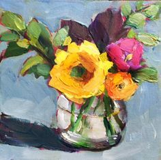 """Each week we will spotlight a different DPW artist who will give away one of their best paintings. To enter to win Martha's painting, """"Ora..."""
