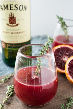 Blood Orange cocktails 2