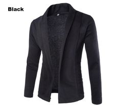 Offer Description of Sweater Men 2019 Brand Concise V-Neck Sweater Coat Cardigan Male Solid Color Slim Mens Cardigan Sweater Coat Man Cardigan Men If You want to buy for Sweaters, then Sweater Men … Blazers For Men Casual, Casual Blazer, Casual Tops, Casual Shorts, Long Sleeve Sweater, Men Sweater, Sweater Jacket, Men Cardigan, Summer Cardigan