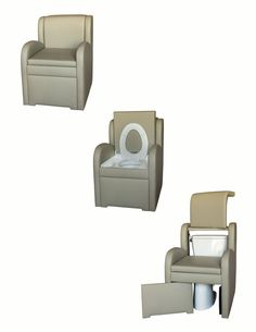Bedside commodes with style