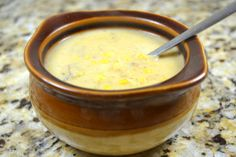Corn Chowder   My Year Cooking with Chris Kimball   I didn't separate the pulp and juice.  After cutting off the corn I scraped the cob as they suggest and dumped it all in together.  I'm not cooking for any Michelin stars!