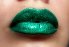 Items similar to Esmeralda - Bright Green Lip gloss Vegan - Gluten Free - Fresh - Handmade Cruelty Free Forest Green Emerald on Etsy Green Lipstick, Lipstick Colors, Liquid Lipstick, Lip Colors, Lip Makeup, Beauty Makeup, Hair Beauty, Lipgloss, Lipsticks
