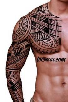 Tattoo designs for guys sweets 70 ideas - maori tattoos Tribal Shoulder Tattoos, Tribal Tattoos For Men, Tribal Sleeve Tattoos, Trendy Tattoos, Tattoos For Guys, Maori Tattoo Arm, Hawaiianisches Tattoo, Arm Band Tattoo, Body Art Tattoos
