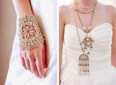 Украшения в стиле бохо для невест, украшения на шею и руки