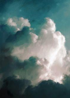 """Aurae III"" Cloud Painting"