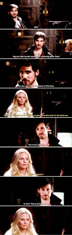"Emma and Hook - 5 * 4 ""Broken Kingdom"" #CaptainSwan"