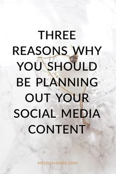 Planning out your next blog post or boutique sale, but not your social media? Hold the phone and read this post. Here are 3 reasons why you should be planning out your social media content (hint: it'll help your business).