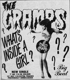 The Cramps.....What's Inside A Girl?...One of my Favorite Songs!